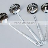Kitchen tools for Chaffing dish stainless steel slotted ladel