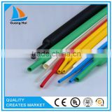 PE colorful CE SGS Standard heat shrinkable sleeves , insulation heat shrink tube