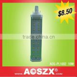 2014 AOSZX PLC 1100LM 10w E27 180 degree 2pin led g24 light bulb