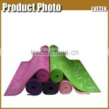 Promotional Wholesale PVC Yoga Mat,Foam Roller fulled printing yoga mat
