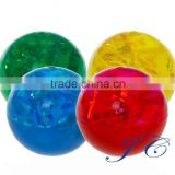 Wholesale 49mm flashing light led bouncing balls