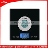 5kg/0.1g kitchen weigh scale digital kitchen scale platform accurate electronic kitchen scale with timer