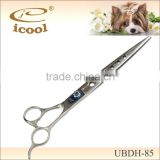 UBDH-85 Long Blades Five Holes Pet Grooming Scissors For Easy and Smooth Cut with Finger Rest Japanese Steel