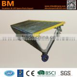 Escalator Step 506NCE,Step for 506NCE,Aluminum,Sliver Grey Painted,With Demarcation Strip,1000mm