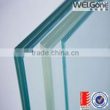 tempered laminated glass price for handrai, balcony, glass wall with AS/NZS2208:1996                                                                         Quality Choice