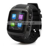 Smart watch latest Watches Phone,Touch Screen,Metal Body,built in SIM card Android 4.2,2G/3G,WIFI,GPS,Camera,3g phone