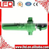 Single acting dump truck hydraulic piston cylinder