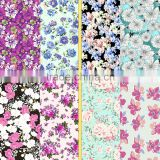 Good quality Bohemia flower design sublimation printing fabric for women's bikini suit                                                                         Quality Choice