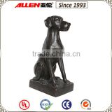 Resin life size home dog statues for sale