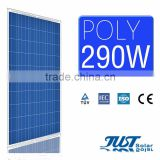 High quality 290 watt polycrystalline solar panel for home solar panel kits paneles solares with CE Tuv