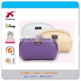 XF-10033 China manufacture Wholesale Girls fashion PU cosmetic bag with zipper, promotional waterproof make up bag