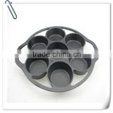 Factory wholesale food safety cast iron grill pan
