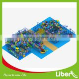 According to CAD Designed Large Indoor Soft Play Equipment for Amusement Park