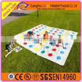 Giant Outdoor Game Inflatable Twister Mats For Kids