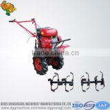 Multi-function small tractor rotavator mini kubota tractor power tiller for sale