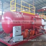 portable water well drilling equipment solid control oil mud tanks