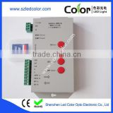 T1000 SD Card Pixel LED Controller WS2801 WS2811 UCS1903 LPD8806 DMX Dream Color LED Controller