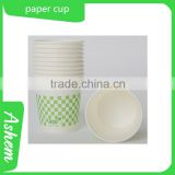 hot sell cheap disposable paper cup with customized design and free logo printing, DL725