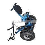 Modern mini electric golf carts, electric scooter with golf bag carrier bracket hot selling