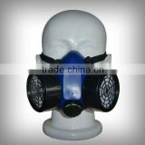 High quality TPE frame double filter chemical gas mask 6200 chemical double filter chemical respirator