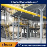 High efficiency China Manufacturers half water gypsum machine plaster