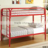 2015 Kids Bedroom Furniture Metal Iron Single Size Children Bunk Bed with Stair