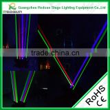 Music equipment professional effecto luce laser led moving spider beam light