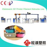 Flexible 3D Printing Filament Extrusion Line Dongguan Songhu Plastic Machinery Corp.