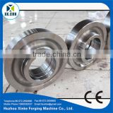Professional Maker Manufacturing heavy parts forging piece large end cap for hydraulic press
