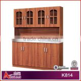 K814 Hot sale custom made solid wood kitchen cabinet