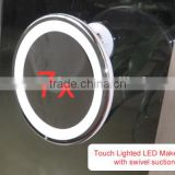 Bathroom makeup mirror with led light,Touch Dimmer bathroom makeup mirror, touch screen bathroom mirror,