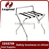 Hot Sale Chrome Hotel Room folding used hotel luggage rack                                                                         Quality Choice