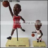 3D basketball player bobble head plastic figurines, bobble head OEM factory