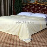 Imitated Silk bed sheet set 100% Mulberry Silk Jacquard Bedding Set china