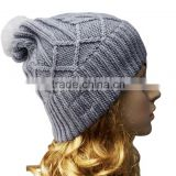 Spring Women Men Unisex Knitted Winter Cap Casual Beanies Solid Color Hip-hop Snap Slouch Beanie Hat