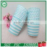 Blue and white stripes baking cake cups, home decorations cup wrappers, cake tools bakeware cake wrappers                                                                         Quality Choice