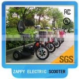 48V Voltage and Open Body Type electric scooter three wheel motor vehicle