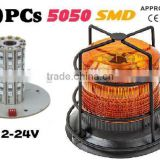 Forklift LED Warning Light,Warning Beacon,LED Beacon Light,LED Strobe Beacon(SR-BL-603CP-60SMD)12-24V, W Metal Cage Protector