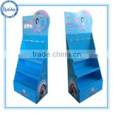 baby products pallet floor display stand with hooks,retail hook display