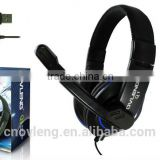 USB Cable Headphone with 40mm Headset Speaker