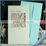 15 Years Experience Manufacturer Supply FSC Approved Envelope Shaped Birthday Card