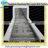 Chain Link stainless steel wire mesh belt conveyor or stainless steel wire mesh conveyor belt chain link