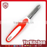 Nice Appearance TPR handle Hot sale pineapple commercial garlic apple peeler corer slicer