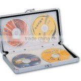 40 CD DVD DJ ALUMINIUM TRAVEL STORAGE CASE