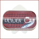 good quality sardines morocco in vegetable oil 125gX50tins