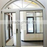 Luxury look top arched casement window