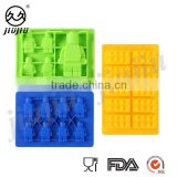 Lego robot Building Brick and Figure silicone ice cube tray/cake,baking mold