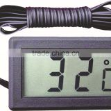 Button cell temperature gauge meter digital refrigerator thermometer with temperature probe AG-10