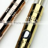2015 SMY new 900mah beautiful lady e cig variable voltage best gift package vaporizer pen catherine