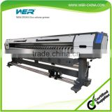 Cheap 3.2m WER ES3202 large format vinyl pvc flex banner printing machine eco solvent printer for feather flag